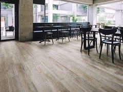 Pavimento in gres porcellanato effetto legno WOODRAW POWDER - WOODRAW