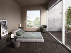 Ergon, WOODTOUCH WENGE Pavimento/rivestimento in gres porcellanato effetto legno
