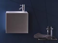 Spazio lavabo in acciaio vetrificatoWP.Folio11 - ALAPE