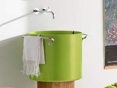 Lavabo rotondo sospeso in alluminioCHEF | Lavabo - RAPSEL INTERNATIONAL