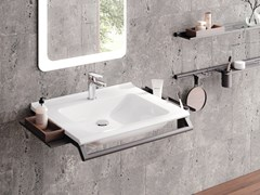 Lavabo in materiale composito MODULAR SYSTEM | Lavabo - HEWI HEINRICH WILKE