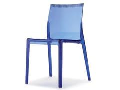 Sedia impilabile in policarbonatoWAVES - I.T.F. DESIGN