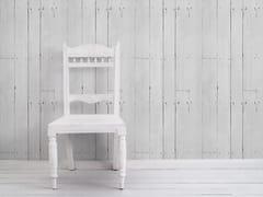 Mineheart, WHITE PLANK Carta da parati effetto legno in vinile