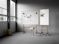 Lavagna per ufficio magnetica con ruote Lavagna magnetica su ruote - Mobile Whiteboards