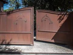 GH LAZZERINI, Cancello in ferro battuto 6 Cancello in ferro