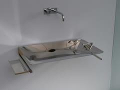 Lavabo rettangolare in acciaio inox con porta asciugamaniX-TREME - RAPSEL INTERNATIONAL