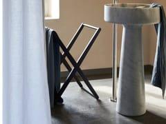 Porta asciugamani da terra in legnoX | Porta asciugamani - AGAPE