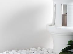 URBATEK, XLIGHT BASIC SNOW Pannello per facciata in gres laminato