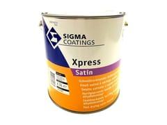 Smalto alchilico a solvente satinato con Fast Drying TechnologyXPRESS SATIN - SIGMA COATINGS