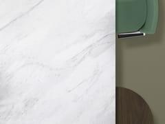 Porcelanosa Grupo, XTONE LUSH WHITE Piano lavabo / top cucina in gres porcellanato
