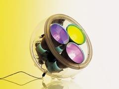 Lampada da tavolo a luce diretta fluorescente YANG METAMORFOSI -