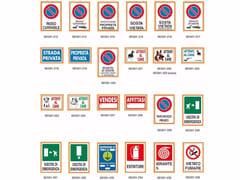 Dakota, CARTELLO SEGNALETICO 20 x 30 Cartello per segnaletica stradale e privata