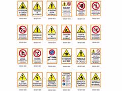 Dakota, CARTELLO SEGNALETICO 50x70 Cartello per segnaletica stradale e privata