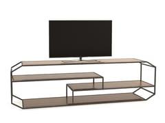 Mobile TV in legno masselloYIN | Mobile TV - BAREL