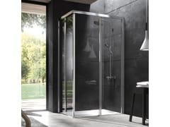 Box doccia angolare in cristallo con porta scorrevoleYOKO | Box doccia angolare - KAROL ITALIA