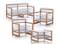 Lounge set da giardinoYOKO ET TABLE BASSE   Lounge set da giardino - MOJOW