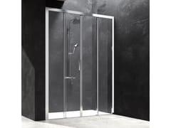 Box doccia a nicchia in cristallo con porta scorrevoleYOKO | Box doccia a nicchia - KAROL ITALIA
