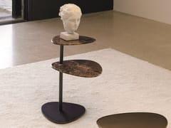 Tavolino di servizio in marmoYORI | Tavolino in marmo - DÉSIRÉE DIVANI
