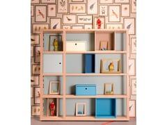 Libreria a giorno componibile laccataYOUNG | Libreria - DEARKIDS