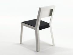 Sedia in lamiera con cuscino integrato YU.YU | Sedia con cuscino integrato - Yu.Yu