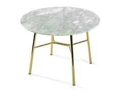 Tavolino rotondo in marmoYUKI | Tavolino rotondo - TRABALDO