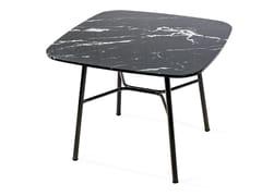 Tavolino quadrato in marmoYUKI | Tavolino quadrato - TRABALDO