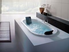 Vasca da bagno idromassaggio ovale da incasso YUMA -