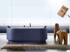 Blu Bleu, YUMA COLOR Vasca da bagno idromassaggio ovale