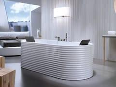 Vasca da bagno centro stanza idromassaggio ovaleYUMA LINE - KAROL ITALIA