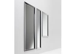 Casamania & Horm, YUME Specchio da parete o da terra con cornice in alluminio