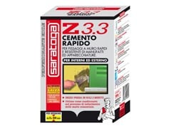 SARATOGA, Z3.3 Cemento rapido