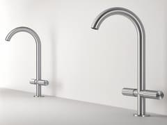 Miscelatore per lavabo da piano monoforo in acciaio inoxZ316 | Miscelatore per lavabo monoforo - RUBINETTERIE ZAZZERI