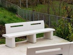 Panchina con schienaleZAIN - ULMA ARCHITECTURAL SOLUTIONS