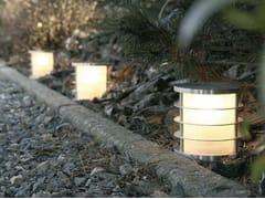 Paletto luminoso in acciaio inoxZAXOR DECOR - BEL-LIGHTING