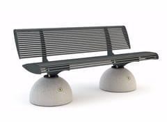 Panchina con schienaleZEBRA | Panchina - BELLITALIA
