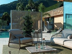 Schermo divisorio da giardino in tessuto microforatoZED | Schermo divisorio da giardino in tessuto - FIM