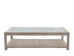 Tavolino da caffè rettangolare con vano contenitoreZEFIRO | Tavolino rettangolare - IL GIARDINO DI LEGNO