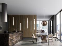 Divisorio per ambienti in legnoSISTEMA ZEFIRO - LINVISIBILE BY PORTARREDO