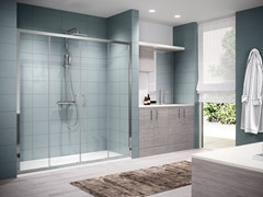 Box doccia a nicchia con porta scorrevoleZEPHYROS | 2A - NOVELLINI