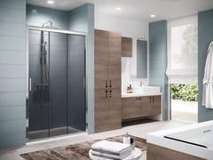 Box doccia a nicchia con porta scorrevoleZEPHYROS | 3P - NOVELLINI