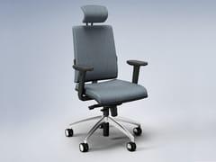Sedia ufficio in tessuto a 5 razze con poggiatestaZERO7 ELEGANT   Sedia ufficio - FANTONI