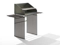 Barbecue in acciaio zincatoZEROQUINDICI.015 | Barbecue - URBANTIME BY DIEMMEBI