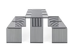 Urbantime, ZEROQUINDICI.015 | Tavolo per spazi pubblici  Tavolo per spazi pubblici