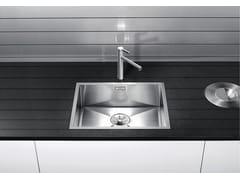 Lavello a una vasca da incasso in acciaio inoxBLANCO ZEROX 500 IF - BLANCO