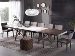 Tavolo allungabile rettangolare ZEUS | Tavolo in ceramica -