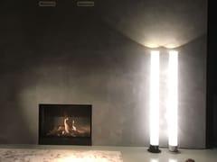 Lampada da terra a luce diretta e indiretta in plasticaZEUS - FERROLIGHT DESIGN