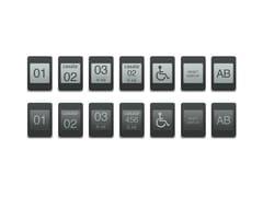 Numerazione per posti a sedereZIFRA II - CASALA