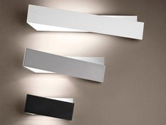Applique a LED in metalloZIG ZAG_W - LINEA LIGHT GROUP