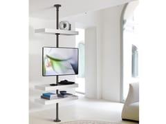 Supporto per monitor/TV in metallo da soffittoDOMINO | Supporto per monitor/TV - PORADA