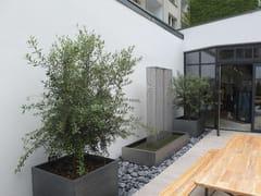 IMAGE'IN, ZINC ASPECT PLANT CONTAINER SET - TURNKE | Fioriera su misura  Fioriera su misura